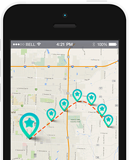 Cell phone monitoring for iphone