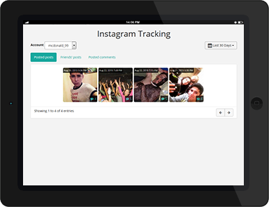 Cell Phone Monitoring: Instagram Tracking
