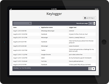 Cell Phone Monitoring: Keylogger